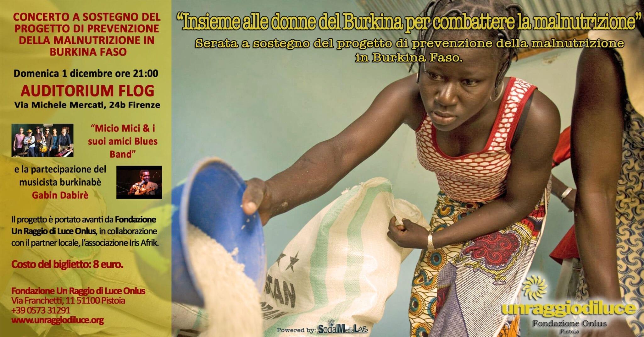 Photo of FIRENZE – Combattere la malnutrizione con le donne del Burkina Faso