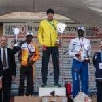 Il podio maschile 2013