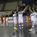 Italia Romania futsal calcio a 5 Prato (foto Cassella/Divisione Calcio a 5)