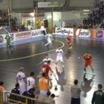Italia-Romania calcio a 5 Prato