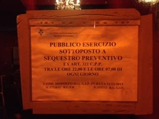 I sigilli al Lochness di via de' Benci a Firenze