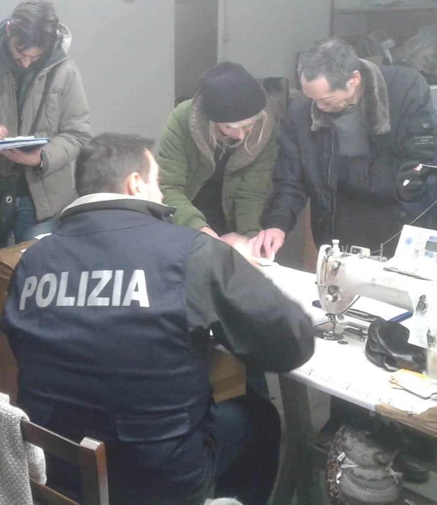 polizia Prato cinesi