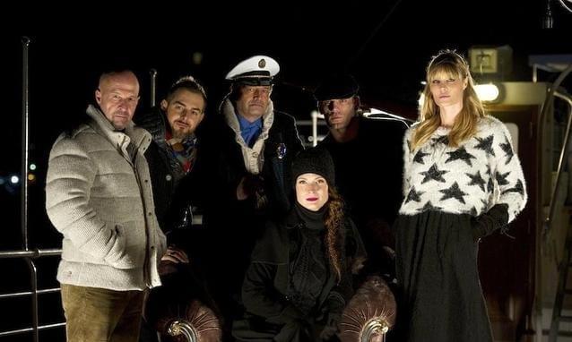 Mistero - cast (foto Ufficio Stampa Mediaset)