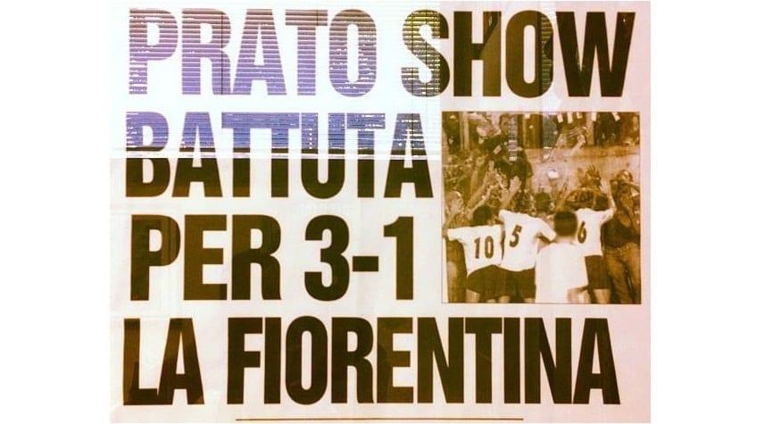 Prato Fiorentina 3-1