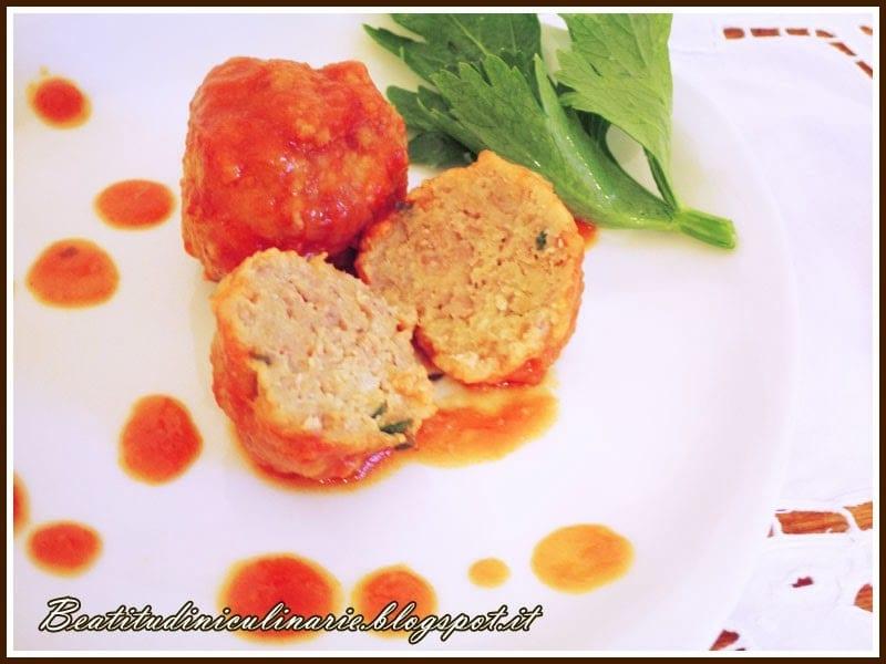 Photo of Polpette non fritte al pomodoro