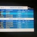 Ritardi treni Valdarno (foto gruppo Facebook 'Comitato Pendolari Valdarno Direttissima')