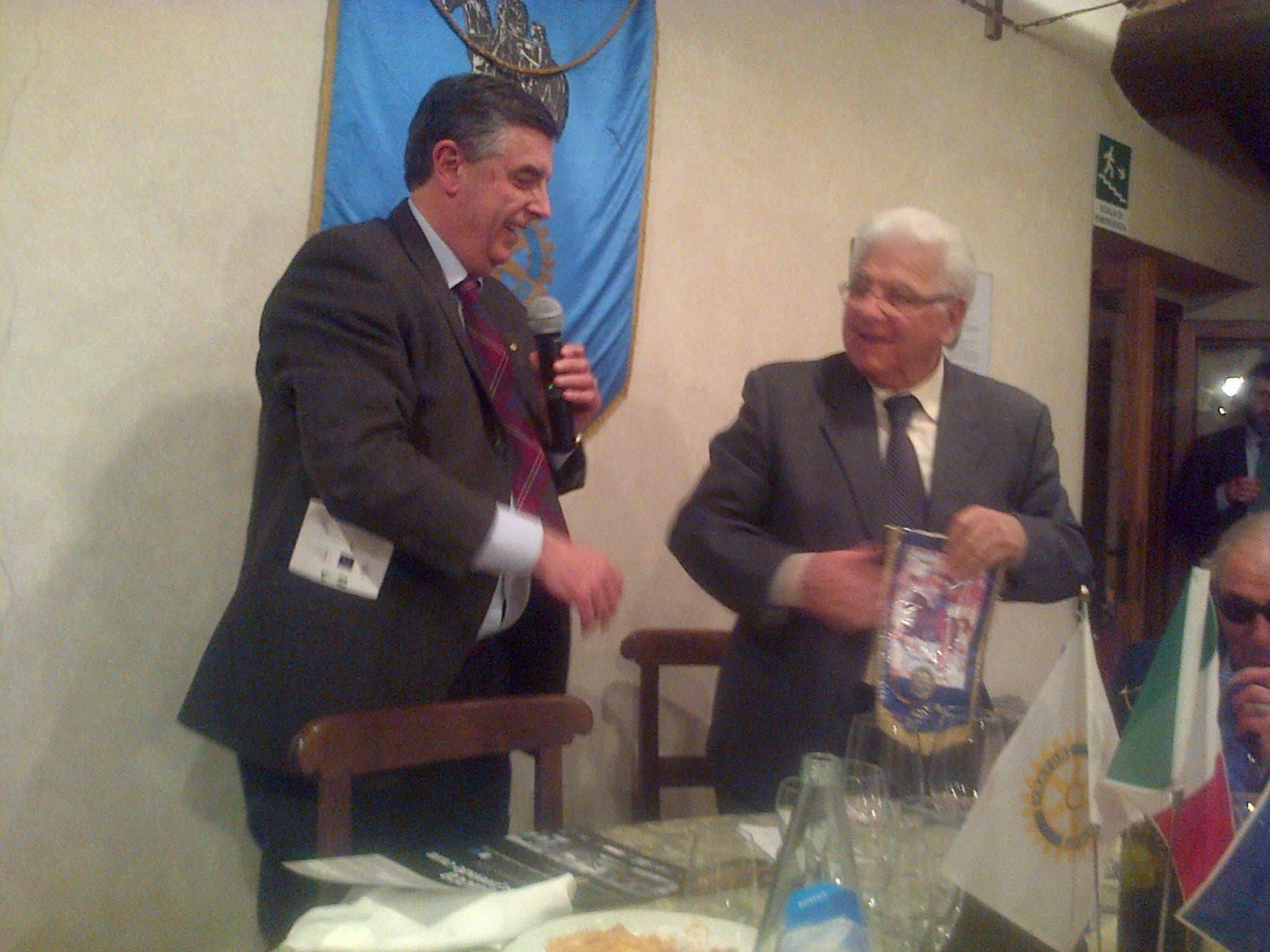 Photo of L'A.M.L. ospite del Rotary Club Lucca