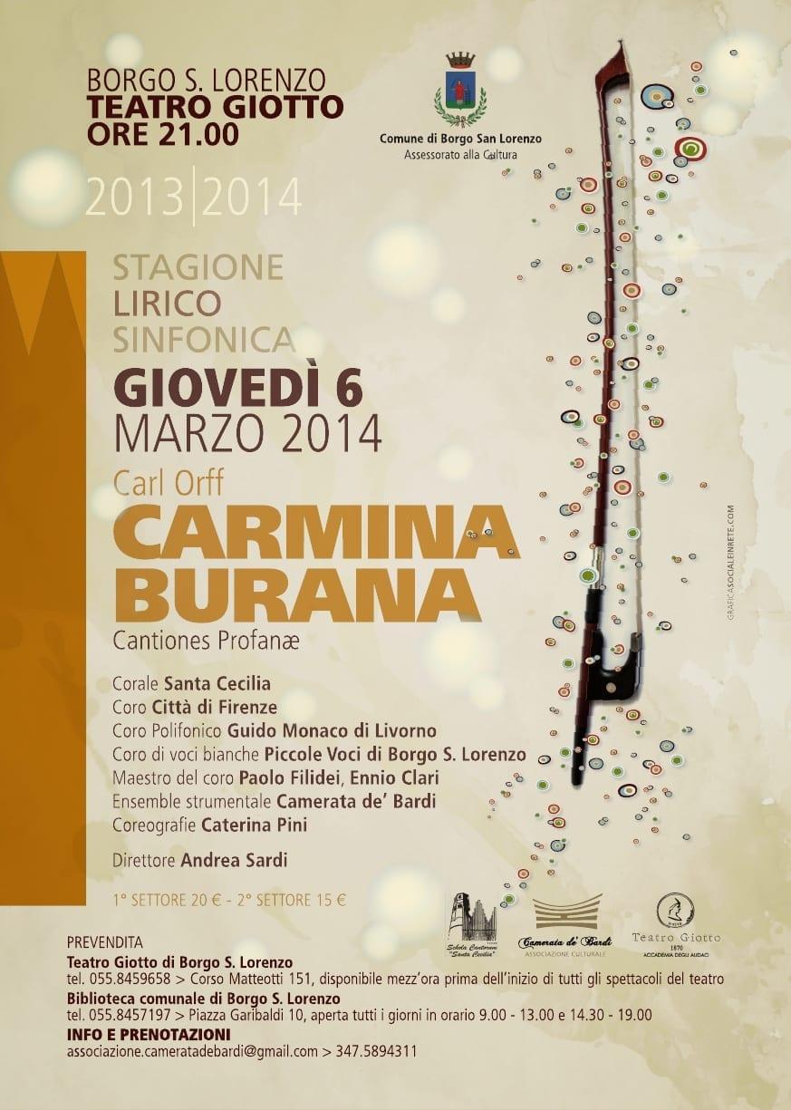 Photo of BORGO SAN LORENZO – Carmina Burana di Carl Orff