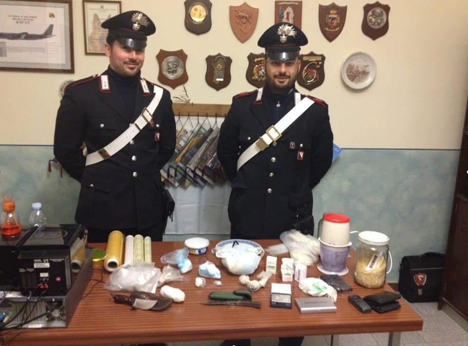 Carabinieri, operazione antidroga a Tavarnelle in Val di Pesa (Firenze)