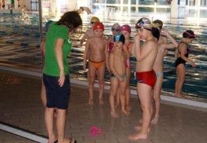 Gli allievi della Chimera Nuoto