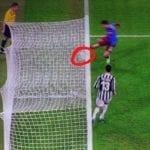 Juventus-Trazbonspor, azione gol annullato 2