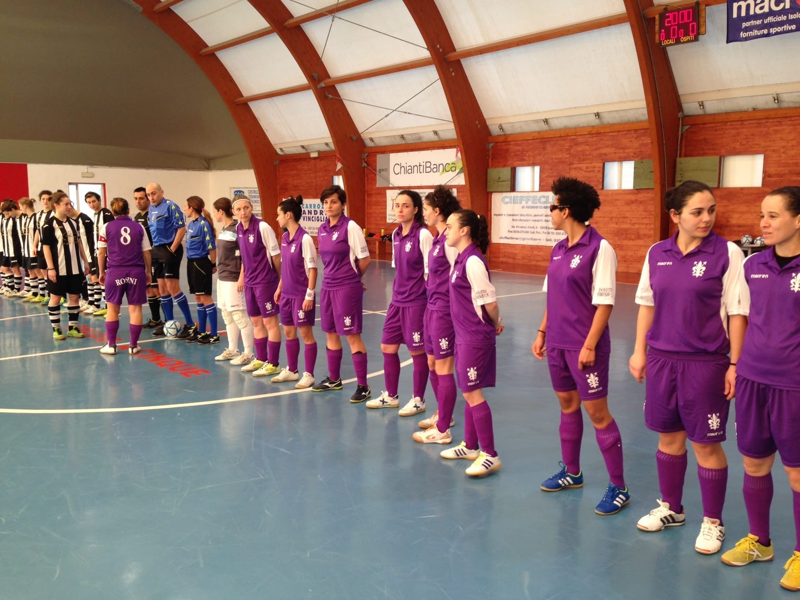 Photo of FIRENZE – Isolotto calcio a 5 donne, goleada sul Padova