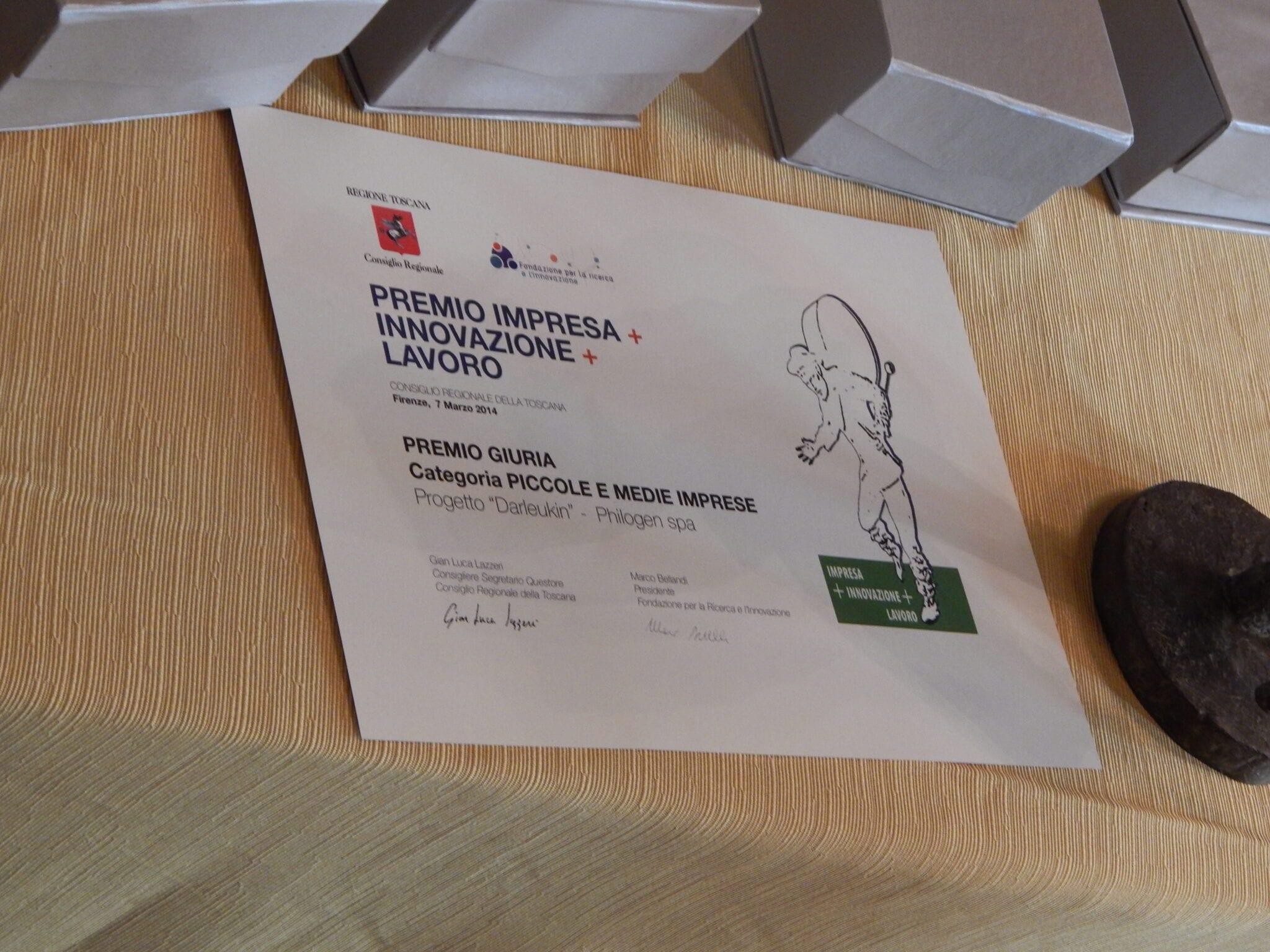 Photo of 4 aziende toscane si aggiudicano il Premio 'Impresa+Innovazione+Lavoro'