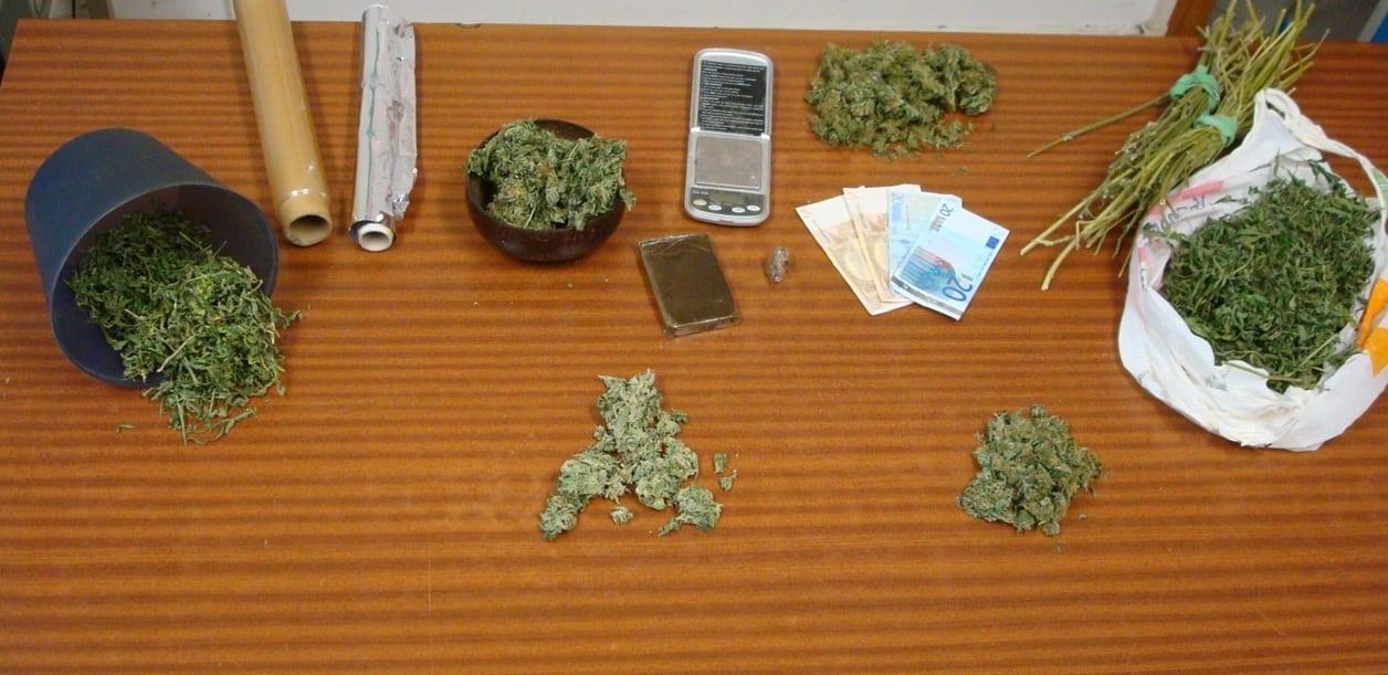 Sequestro hashish e marijuana a Greve in Chianti (Firenze)