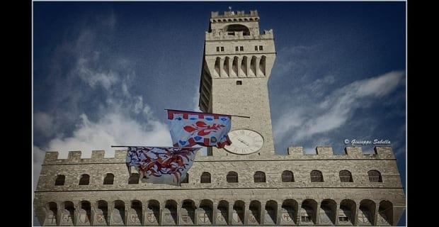 Esibizione dei Bandierai degli Uffizi