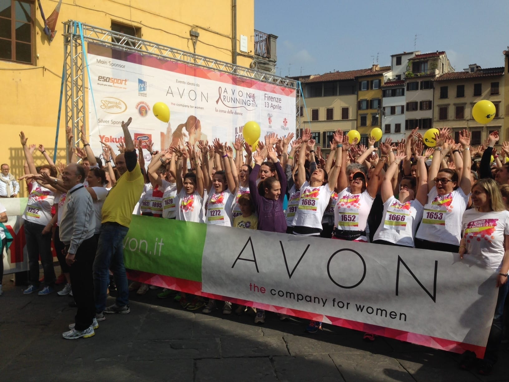Photo of Oltre 2000 donne all'Avon running a Firenze