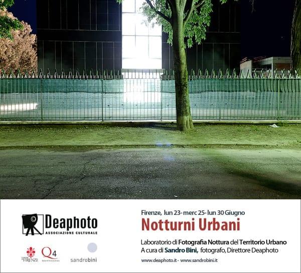 Photo of FIRENZE – 'Notturni Urbani', Laboratorio di Fotografia del Territorio Urbano a cura di Sandro Bini