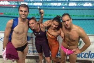 Chimera Nuoto - Un gruppo di Master