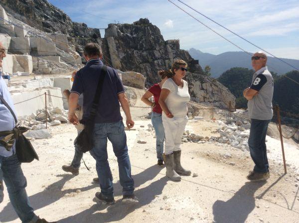 Photo of CARRARA – Susanna Camusso in visita alle cave di Carrara