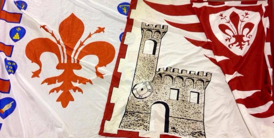 Photo of FIRENZE – I  Bandierai degli Uffizi si gemellano con quelli di Castel San Barnaba di Scarperia