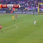 """Serbia-Albania, 0'08"""", Kosovo è Serbia"""