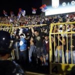 Serbia-Albania, cancello aperto e i 'tifosi' serbi possono invadere il campo