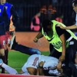 Serbia-Albania, uno steward picchia Cana che aveva fermato l'aggressore di Balaj