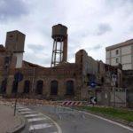 L'ex fabbrica in via Cavour nei pressi del vecchio ospedale (foto tratta da Facebook)