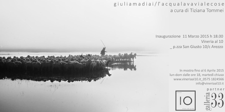 Photo of AREZZO – Giulia Madiai: L'acqua lava via le cose