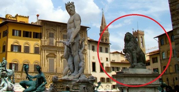 Photo of FIRENZE – Bandierai degli Uffizi promotori del restauro della Statua del Marzocco