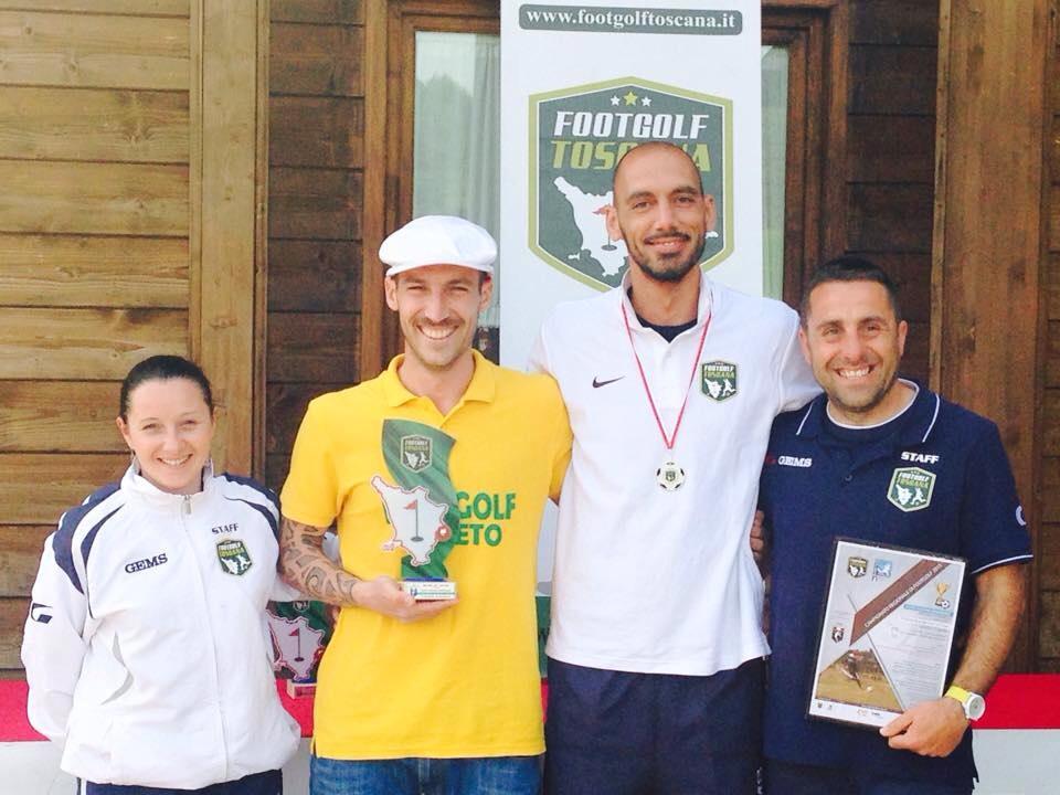 Photo of Footgolf – Riccardo Cogoni e Laura Pini vincono la Coppa Toscana