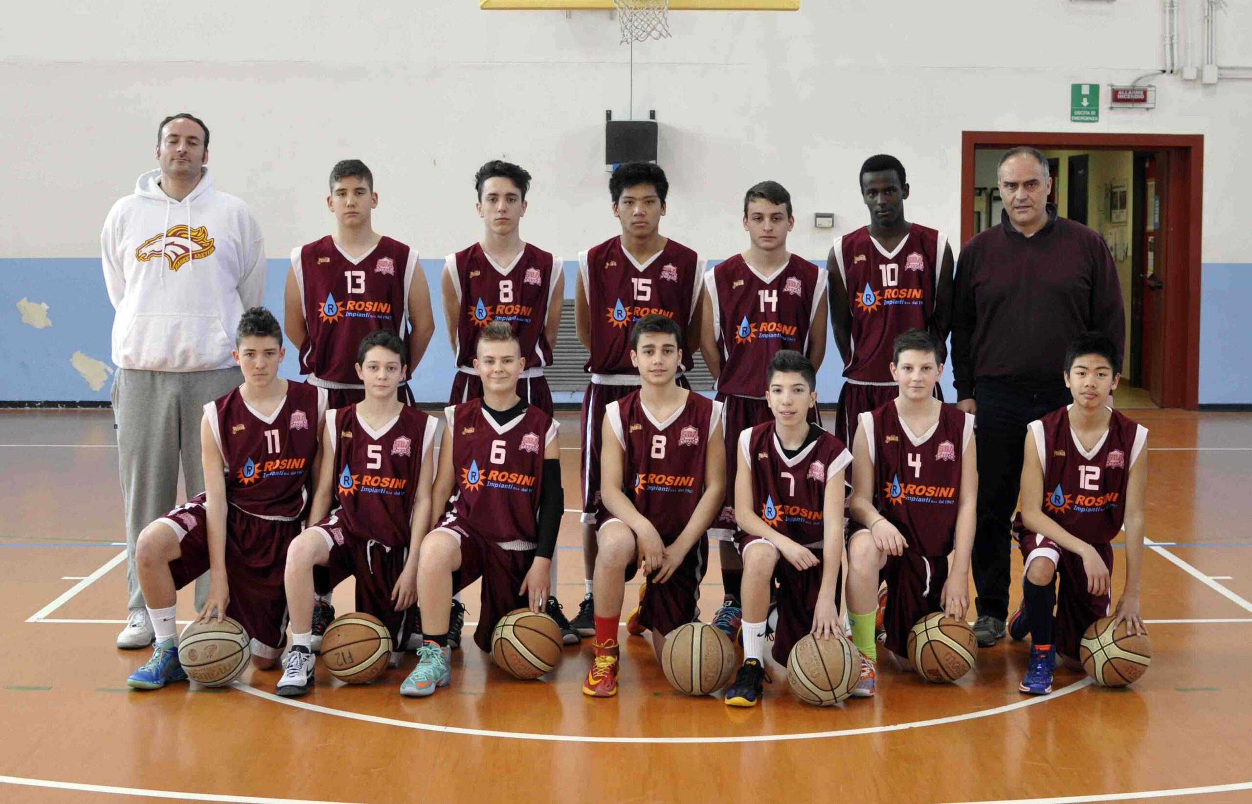 Photo of BASKET – La Sba vince il campionato con l'Under 15 Rosini