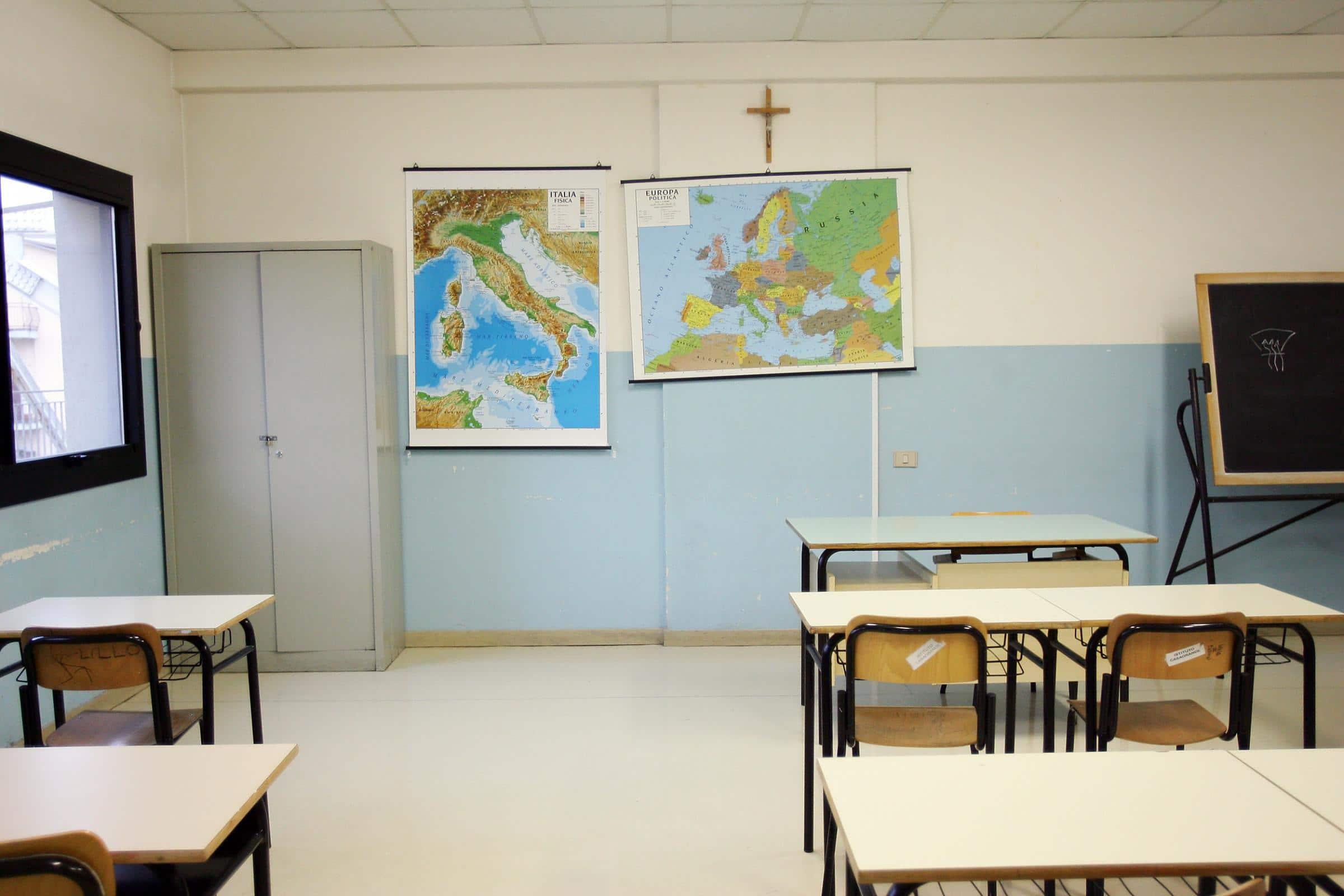 crocefisso scuola