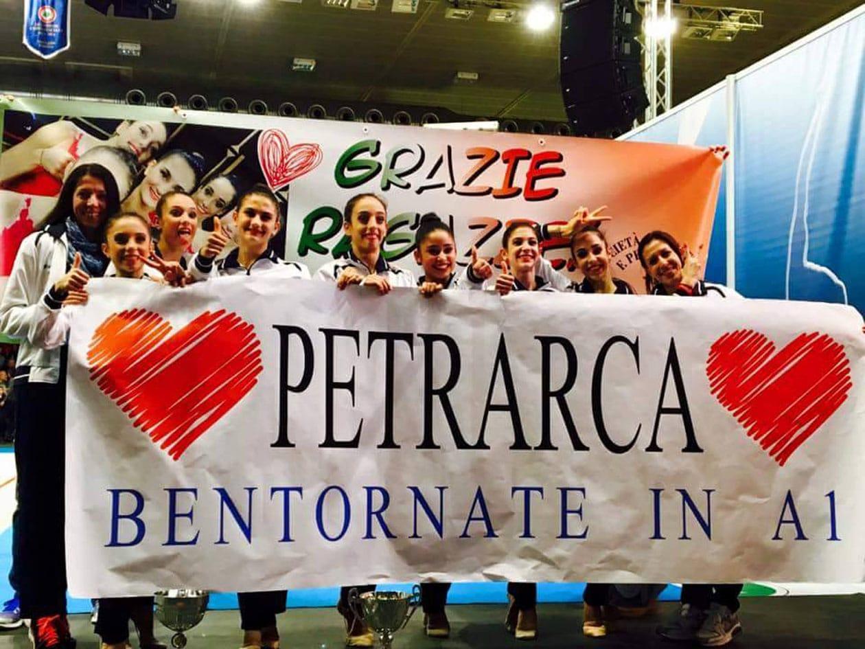 Photo of La Ginnastica Petrarca di Arezzo vince il titolo italiano e torna in A1