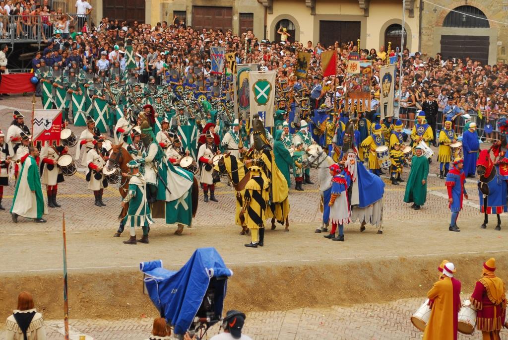 Photo of Terza Giostra del Saracino di Arezzo, arriva l'OK del Consiglio comunale