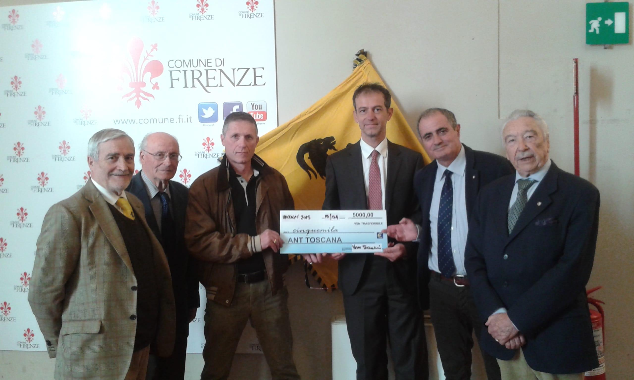 Photo of FIRENZE – 5000€ donati dai macellai fiorentini alla ANT per la lotta ai tumori