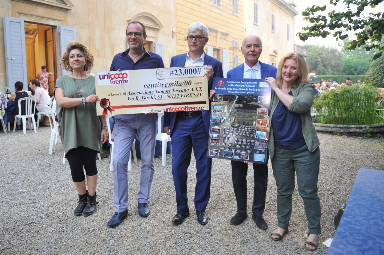 Photo of FIRENZE – Festa d'Estate A.T.T con consegna Assegno e Targhe