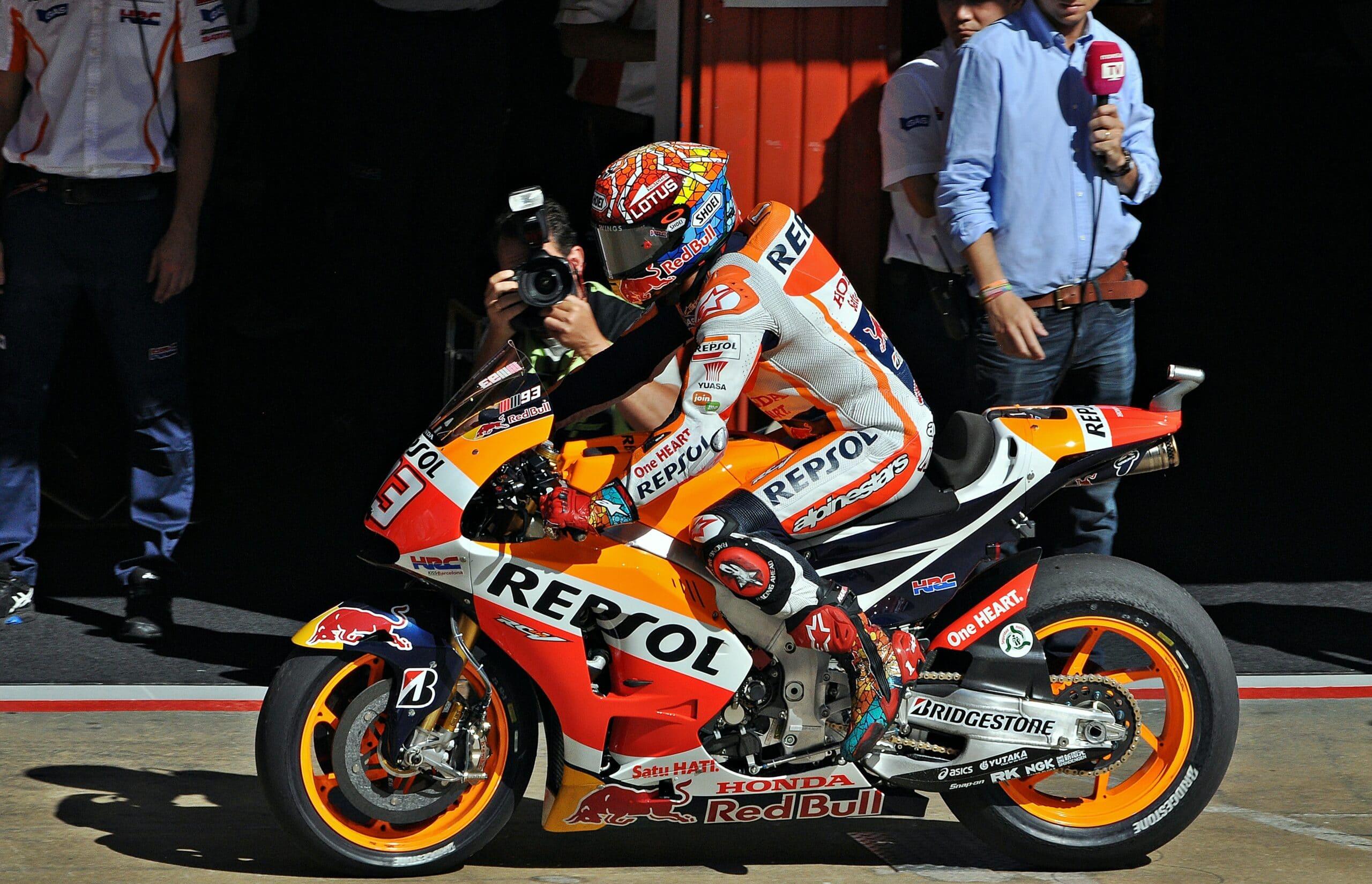 Photo of MOTOGP – Marquez davanti a tutti ad Austin, Lorenzo e Rossi seguono a ruota