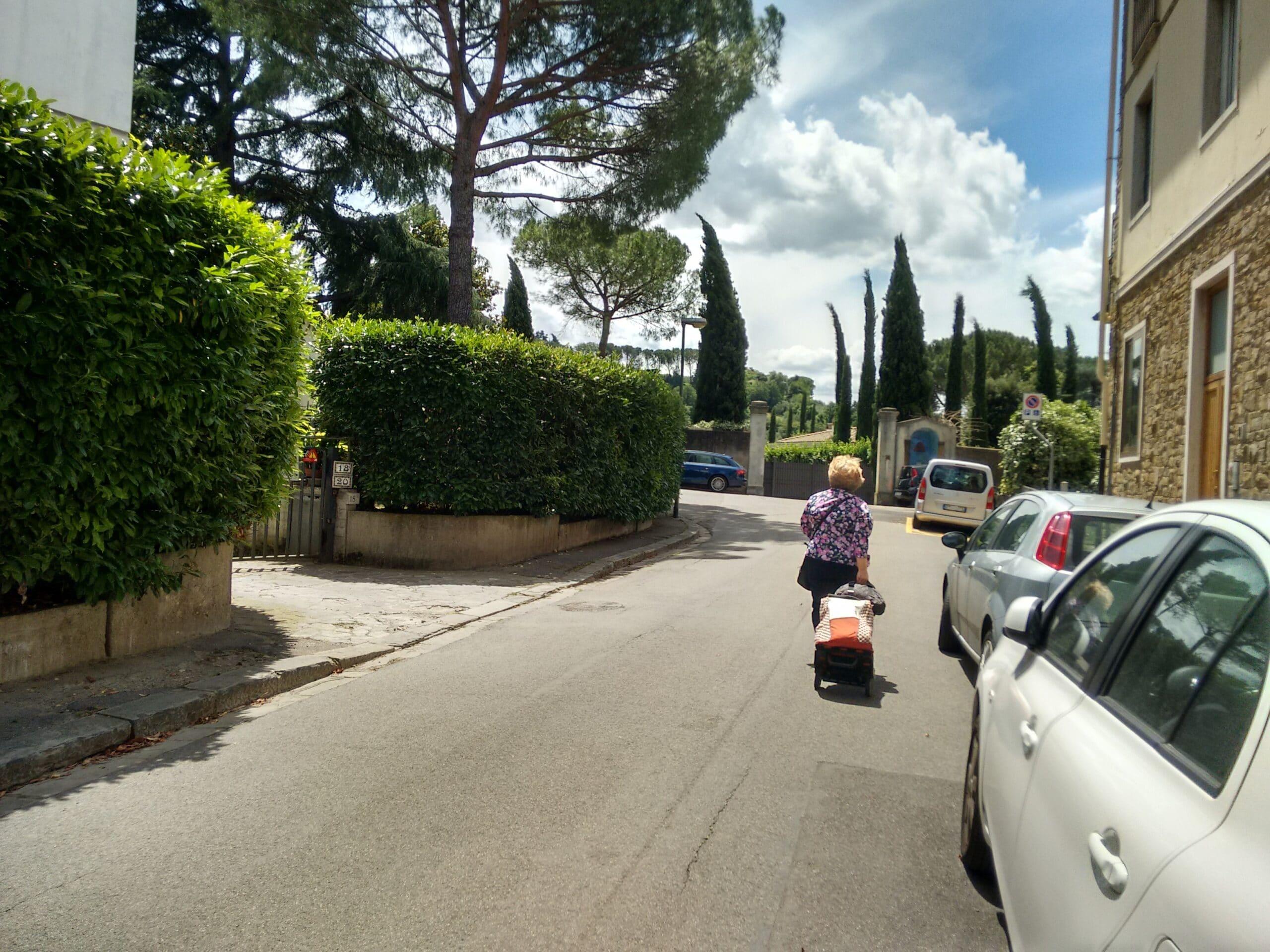 Photo of La Protesta di via di san Vito: «rivogliamo i parcheggi»