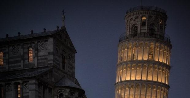 Photo of La Torre di Pisa si accende con la luce di Targetti
