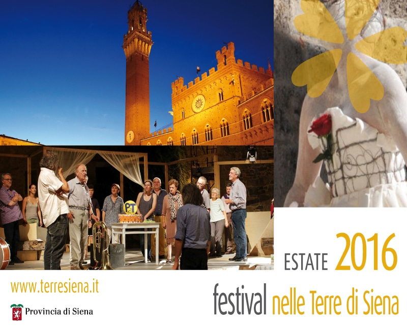 Photo of Festival nelle Terre di Siena 2016, ecco il cartellone degli eventi.