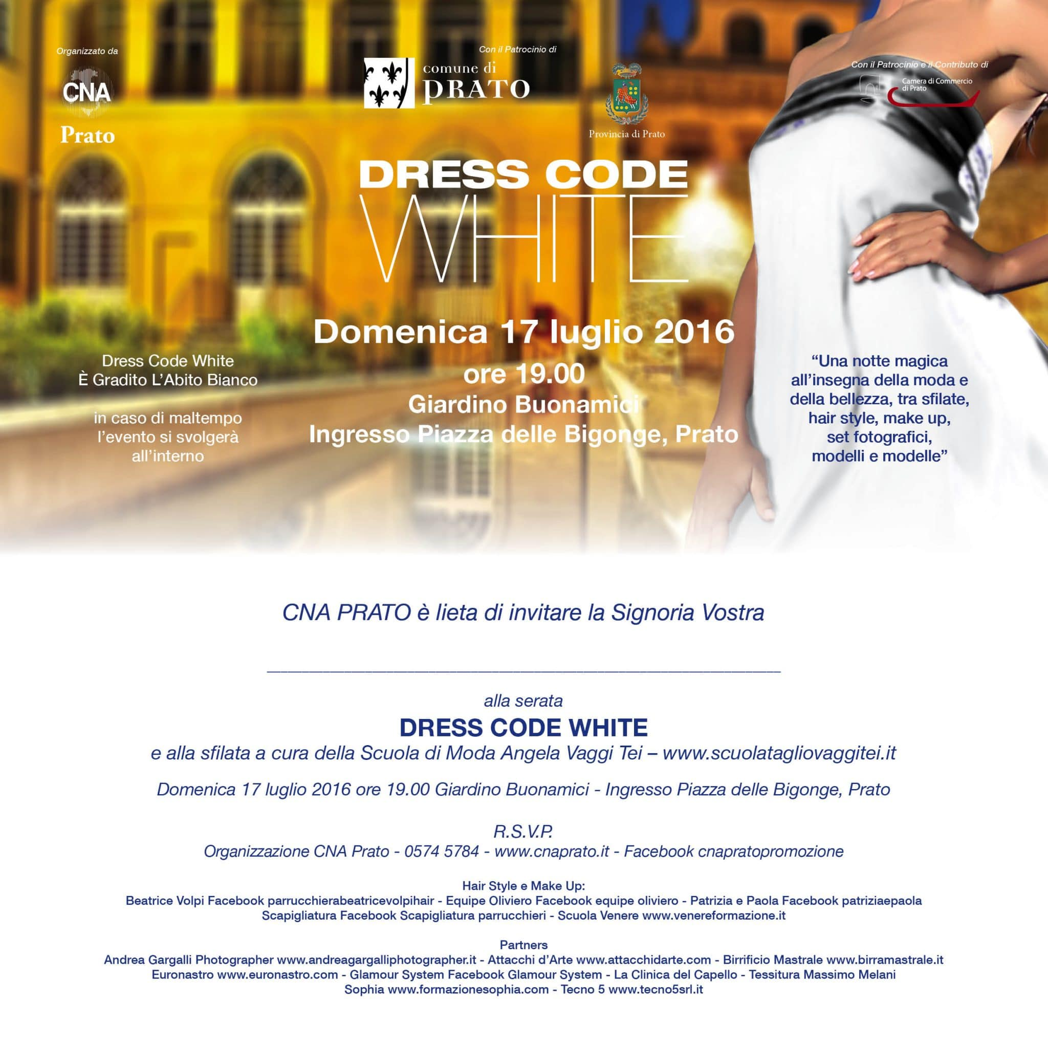 Photo of PRATO – Seconda edizione della sfilata Dress Code White