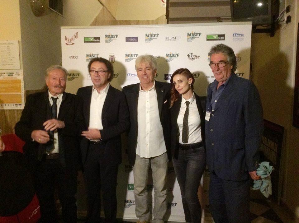Photo of MONTECATINI – Premiati con l'Airone d'oro la produttrice Federica Vincenti e il regista Neri Parenti