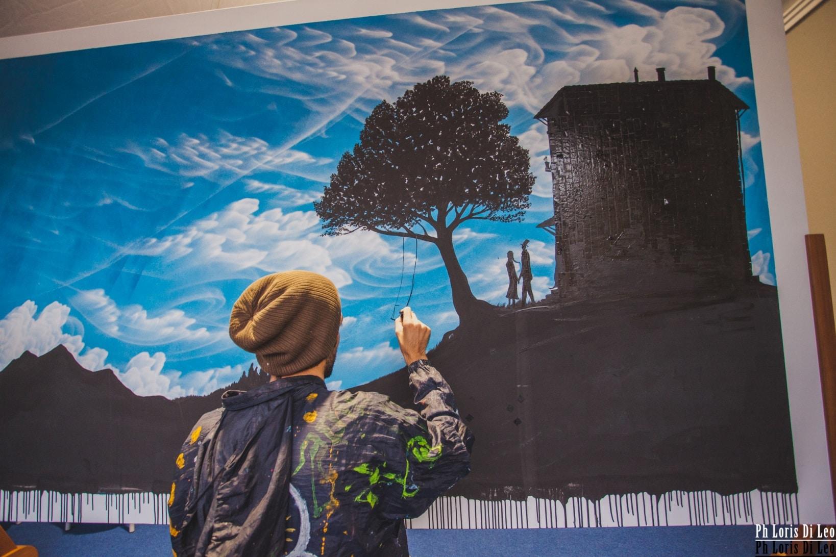 Photo of 'La street art strumento d'integrazione fra generazioni diverse' , Exit Enter al Festival delle Generazioni