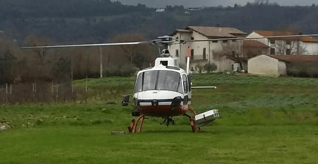 Photo of e-distribuzione ispezione le reti elettriche della Toscana in elicottero