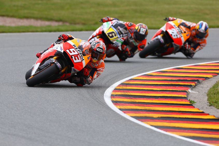 Photo of MOTOGP – Marquez re del Sachsenring edizione 2016. Ducati sul podio con Dovizioso