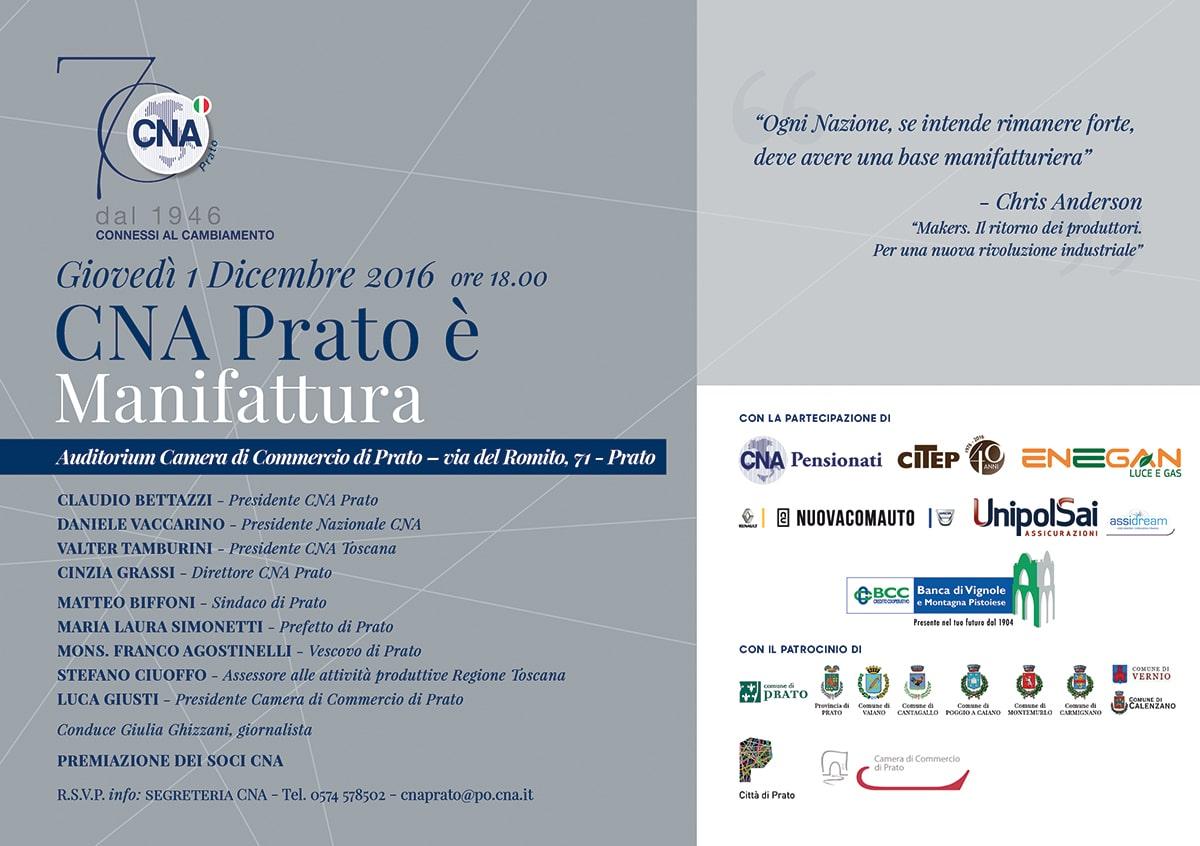 Photo of Cna Prato festeggia 70 anni con Imprenditori e Istituzioni