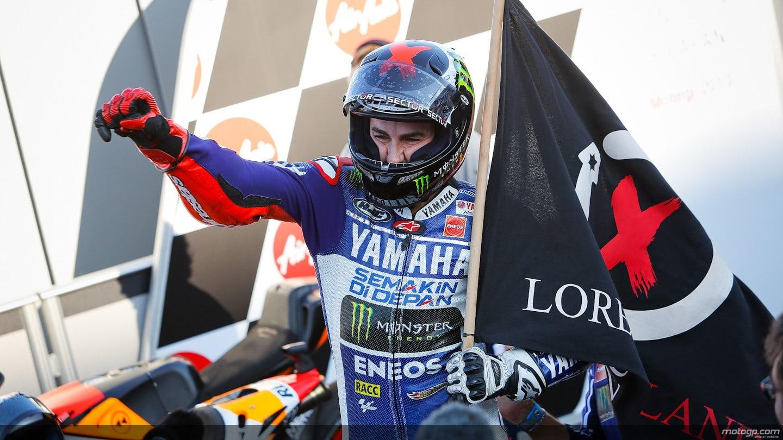 Photo of MOTOGP – Jorge Lorenzo chiude alla grande! Vittoria sontuosa, grande Iannone 3° che saluta la Ducati
