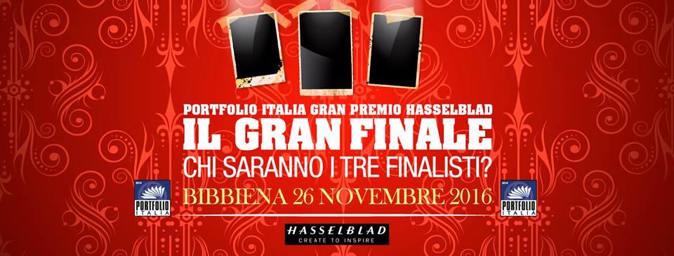 Photo of Premiazione del vincitore di 'Portfolio Italia 2016 – Gran premio Hasselblad'