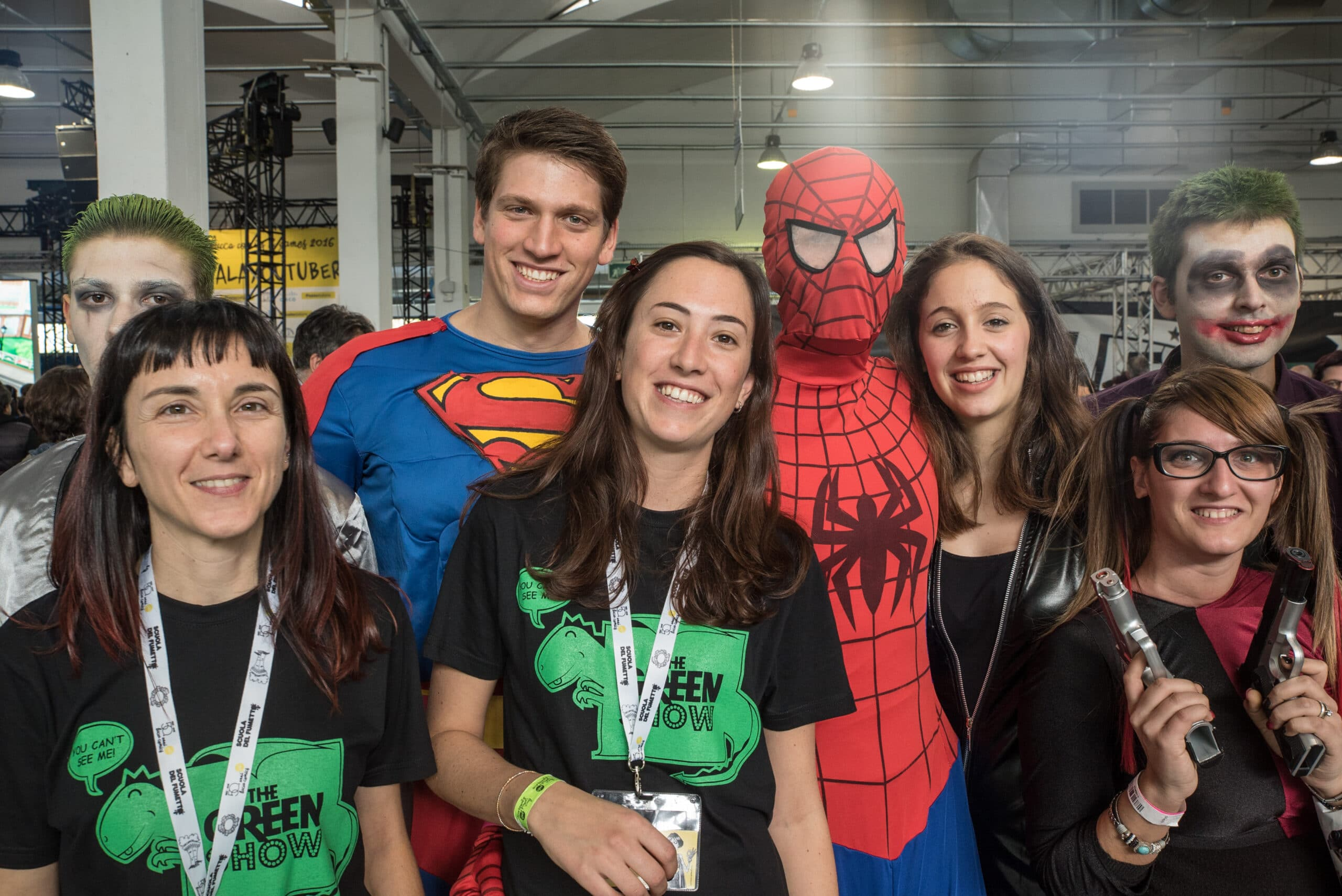 Photo of Lucca Comics and Games 2016, lo spettacolo di The Green Show continua sui social